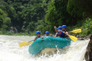 half day rafting costa rica