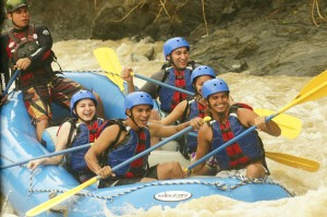 Rafting tour manuel antonio