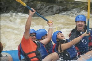 Family Rafting Fun Manuel Antonio