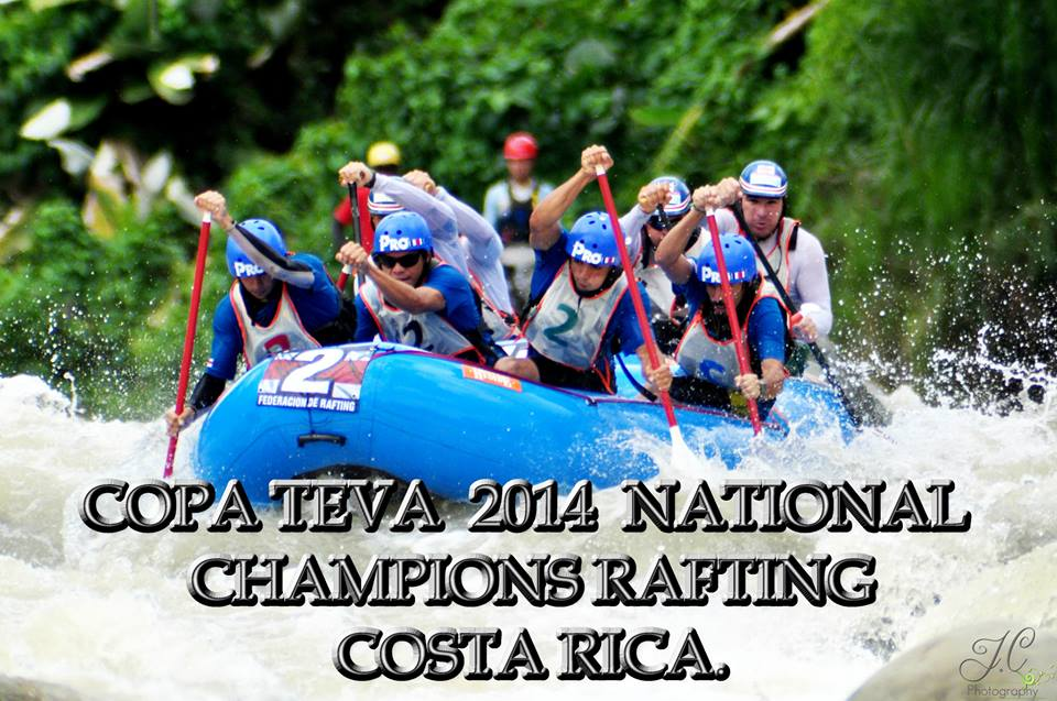 pro rafting team win national champions costa rica