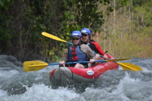 Savegre River rafting trip